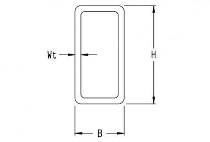 ERW rectangular tube